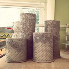 More carved vases coming soon! | by charityhofert