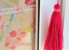 Aprenda a fazer um pingente para decorar a maçaneta da porta