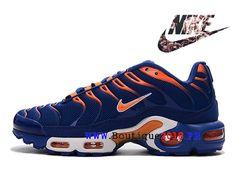 best service ea102 43e54 New Nike Air Max Plus (Nike TN) Chaussures Nike Sportswear Pas Cher Pour  Homme Jaune   Bleu d´armée-1803120236-Nike Boutique de Chaussure Baskets  Site ...