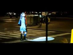 New Audi A4 puts pedestrians in the spotlight - YouTube