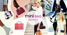 Borse.. che mania!! Indossarle è un pò come raccontare di noi e del nostro stile. #LaPinella #Mag #minibag #itbag #trend #lowcost #lipstick #neverwithout #MarksandAngels http://www.lapinella.com/2016/04/28/mini-bag-mania-trend-2016/