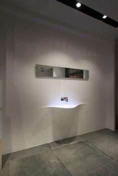 Concept Store Esagono Caserta  interior Design Home SPA Private wellness Desing and Materials  Concrete   Photo |© marioferrara 2015