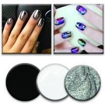 Gel Paint Foil Noir : 3 couleurs Paint, Lashes, Makeup, Products, Picture Walls, Paintings, Drawing, Color