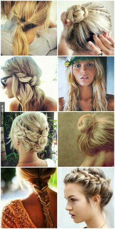 Hair styles for summer