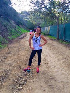 Lea Michele's first hike of 2015
