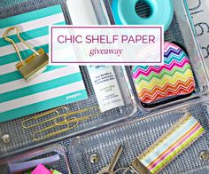 10An Organized Happy Drawer with Chic Shelf Paper