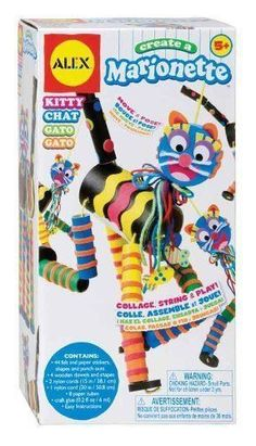 Create A Marionette Kitty Craft Kitty https://www.greenanttoysonline.com.au/create-a-marionette-kitty
