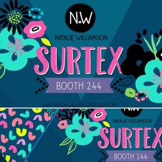 Updating my Facebook page with a cheery #SURTEX promo header  I'll be over in booth 244 with plenty of vibrant prints :) #surfacedesign #artlicensing #artlicensingshow #flowersofinstagram #surtex2016