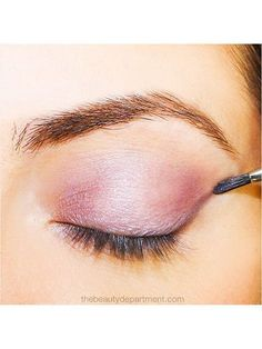 pink eyeshadow | allure.com