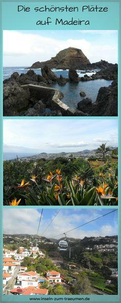 Die schönsten Plätze auf der Insel Madeira, Funchal, Porto Moniz, Calheta, Jardim Botânico , Monte Palace Tropical Garden, Portugal