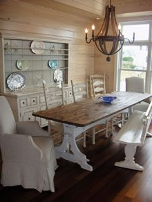 Kitchens Home Styles Monarch White And Oak Kitchen Dining Room Table