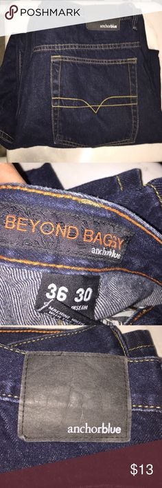 8ccd8519f75 men jeans anchor blue beyond baggy is the names thwyre 36 30 thwyre wider  than