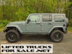 2014 Lifted Jeep Wrangler Unlimited Sahara