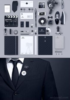 25 Creative Corporate Identity and Branding Design examples   Read full article: http://webneel.com/corporate-identity-branding   more http://webneel.com/branding-designs   Follow us www.pinterest.com/webneel