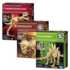 Dig A Dino Excavation Kit 3 Pack *** Read more reviews of the product by visiting the link on the image. Note:It is Affiliate Link to Amazon. #swag