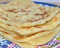 Msemens (8/10)  On peut aussi faire la recette en rajoutant directement du sucre dans la pâte.