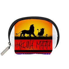 Hakuna+Matata+With+Aztec+Design+Accessory+Pouches+(Small)++Accessory+Pouch+(Small)
