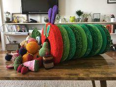 The Very Hungry Caterpillar (crochet) - Imgur