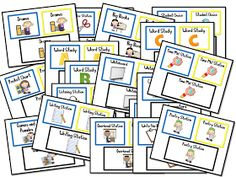 Mrs. Wills Kindergarten: Station Signs Freebie and a Giveaway