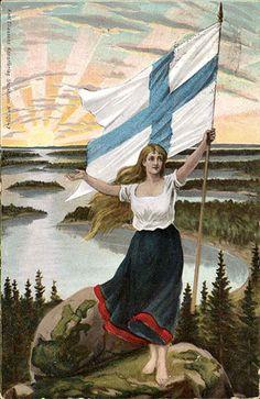 Suomineito. E.A. Hellman (koonnut), 1917. HELMI, Helsingin yliopiston kirjasto