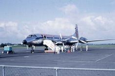 Flying Tiger Line, Whenuapai Airport, 1964