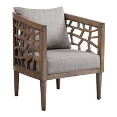 Found it at AllModern - Crackle Lounge Chair 27W x 29D x32.5H $400