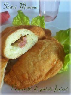 Panzerotti di patate fariciti