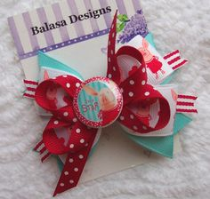 Boutique Olivia Hair Bow by Balasadesigns on Etsy, $4.75