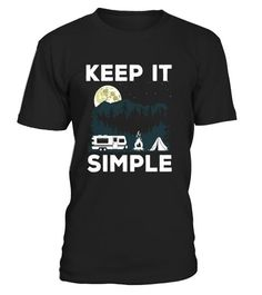 """# Camping Tees: Keep It Simple Under The Moon Camping T-Shirt - Limited Edition .  Special Offer, not available in shops      Comes in a variety of styles and colours      Buy yours now before it is too late!      Secured payment via Visa / Mastercard / Amex / PayPal      How to place an order            Choose the model from the drop-down menu      Click on """"Buy it now""""      Choose the size and the quantity      Add your delivery address and bank details      And that's it!      Tags…"""