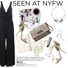 Jumpsuit! by punnky on Polyvore featuring Chanel, Maison Margiela and Polaroid