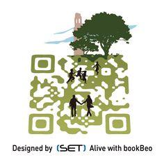 QR Code designé pour l'Office de Tourisme de Brest métropole océane. A retrouver dans le Guide 2012. L Office, Brest, Qr Codes, Guide, Coding, Design, Programming
