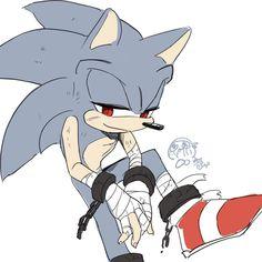 Opposite Dark Sonic? by Legeh on DeviantArt