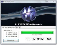 Free PSN Card Code Generator