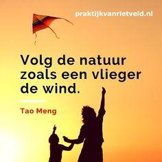Volg de natuur zoals