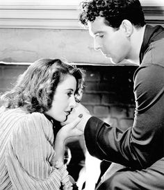 Barbara Stanwyck and Fred MacMurray in a deleted scene from Remember the Night (1940)