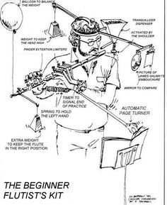 The Beginner Flutist's Kit. :-]