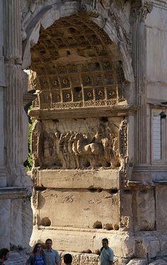 Roman Forum, Arch of Titus.