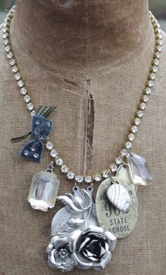 junk jewelry | This 'n that repurposed junk jewelry | Crafty accessories