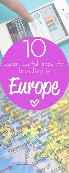 My favorite Europe travel apps! http://www.eurotriptips.com/favourite-europe-travel-apps/