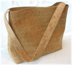 Maybe the most beautiful cork bag ever!