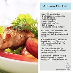 HCG Phase 2 Autumn Chicken