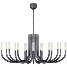 Rousseau Large Oval Chandelier in Various Colors and Designs – BURKE DECOR Outdoor Wall Lighting, Modern Lighting, Lighting Design, Bronze Chandelier, Chandelier Ceiling Lights, Luxury Chandelier, Wall Lights, Circa Lighting, Kelly Wearstler