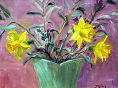 Ivy Delon Fine Art-Daffodils