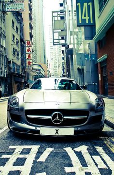Mercedes-Benz SLS AMG by Thomas Chun, via Flickr