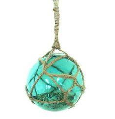 Glass orb ornament. Beautiful