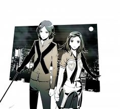 Persona 2 - Tatsuya Suou and Maya Amano by Amatari Sukuzakki