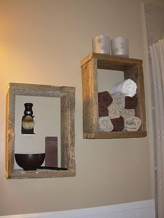 Bathroom Ideas-- great idea!