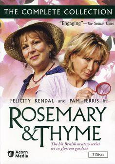 Rosemary & Thyme - BBC TV series - stars Pam Ferris, Felicity Kendall
