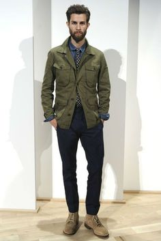 31 Ideas fashion week mens christmas gifts for 2019 Fashion Week, Winter Fashion, Mens Fashion, Runway Fashion, Street Fashion, Style Masculin, Safari Jacket, Casual Wear For Men, Herren Outfit
