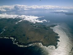 Here is where East meets West, Atlantic meets Pacific.  Tierra del Fuego, Chile, also known as Cape Horn.
